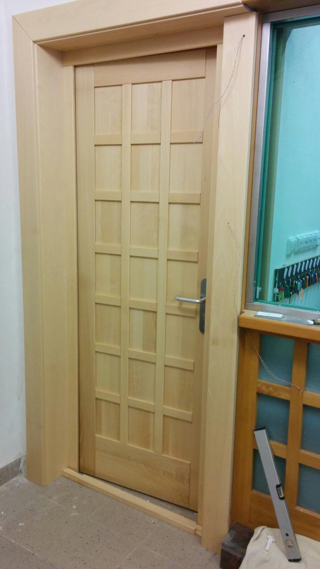 Dubové dveře vnitřní