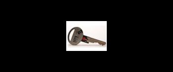 Barevné rozlišení klíčů FAB  - typ s otvorem